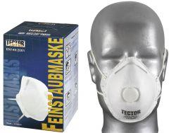 Feinstaubmaske FFP1 mit Ausatmungsventil v. Tector®